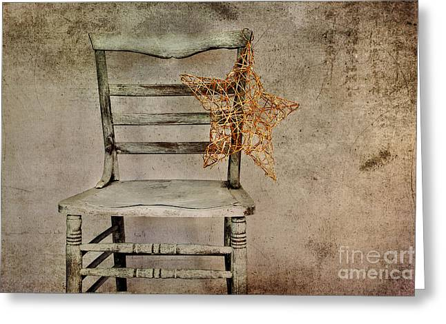 Interior Still Life Photographs Greeting Cards - January Greeting Card by Elena Nosyreva