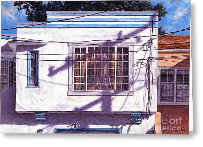 January Light Greeting Card by Lynette Cook