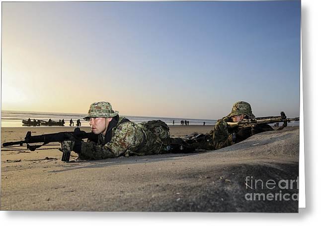 Japan Ground Self-defense Force Greeting Card by Stocktrek Images