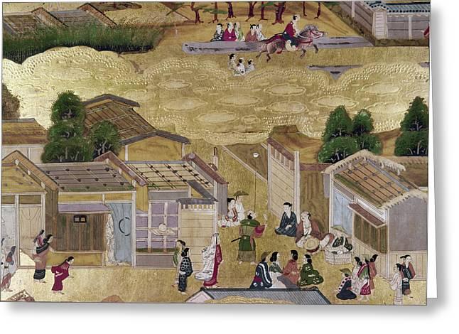 Japan Kyoto, 1730 Greeting Card by Granger