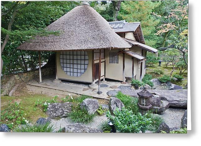 Japan, Kyoto, Kodai-ji Temple, Tea Greeting Card by Rob Tilley