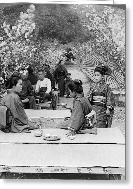 Japan Tea Garden, 1904 Greeting Card by Granger