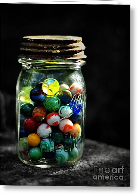 Mason Jars Greeting Cards - Jar Full of Sunshine Greeting Card by Rebecca Sherman