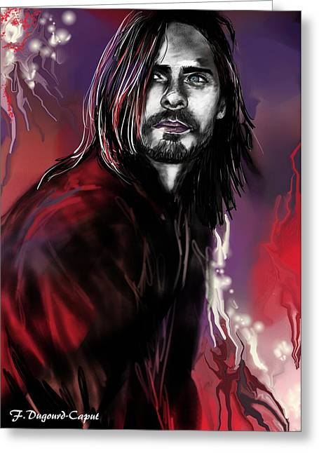 Jared Greeting Card by Francoise Dugourd-Caput