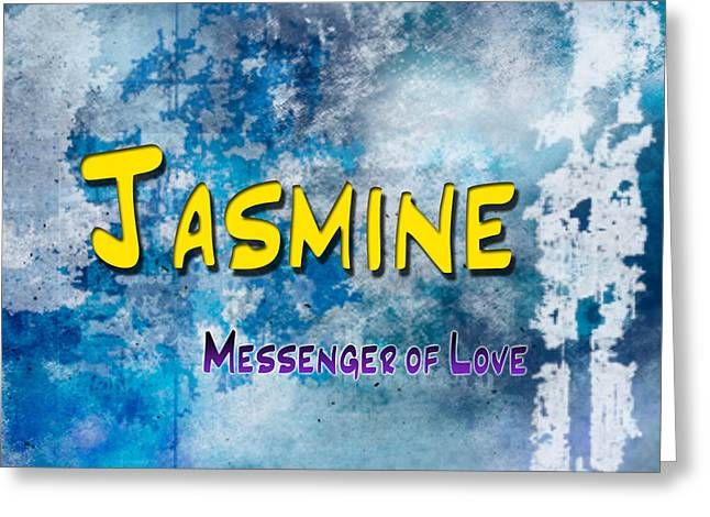 Children Greeting Cards - Jasmine - Messenger of Love Greeting Card by Christopher Gaston