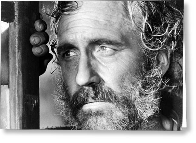 Il Greeting Cards - Jason Robards in Cera una volta il West  Greeting Card by Silver Screen