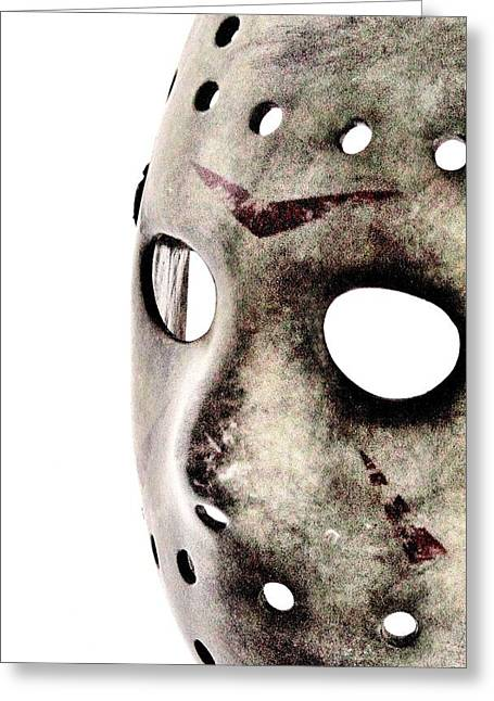 Jason Voorhees Greeting Cards - Jasons Phone Greeting Card by Benjamin Yeager
