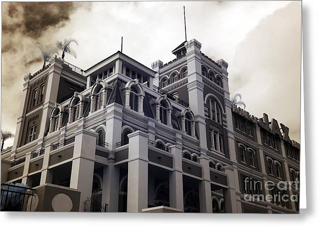 Jax Greeting Cards - Jax Brewery infrared Greeting Card by John Rizzuto