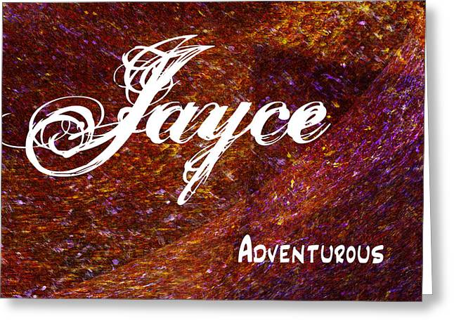 Jayce - Adventurous Greeting Card by Christopher Gaston