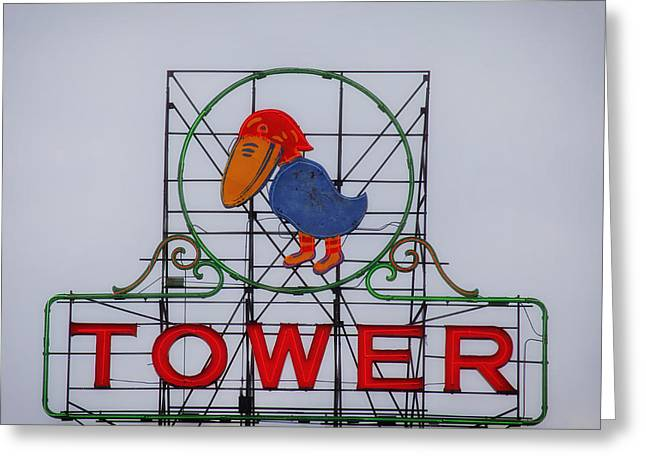 Jayhawk Greeting Cards - Jayhawk Theatre Sign Greeting Card by Mountain Dreams
