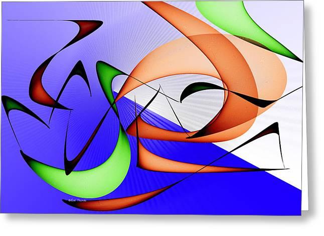 Jazz Greeting Card by Rick Thiemke