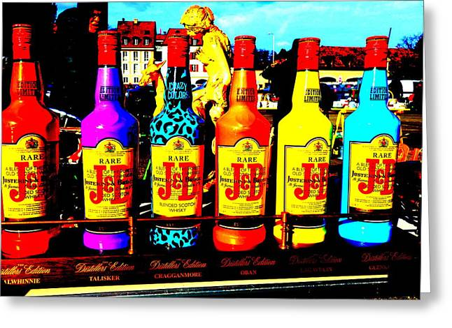 Landscape Posters Greeting Cards - JB Whiskey Heaven Greeting Card by Funkpix Photo Hunter
