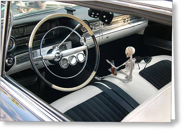 Old Street Greeting Cards - JD Caddy Greeting Card by Michael Baum