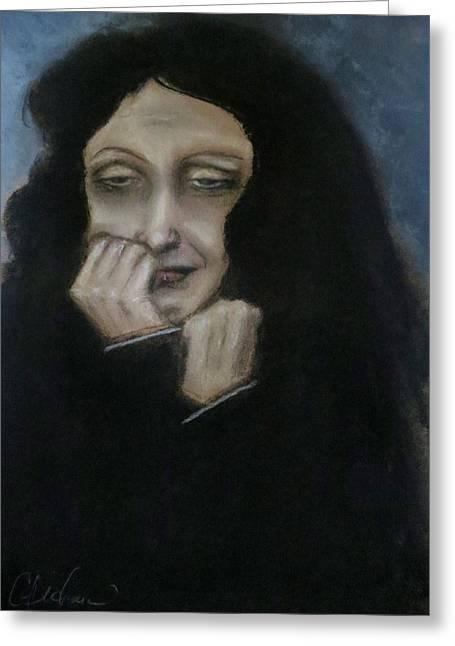 Edith Piaf Greeting Cards - Je Ne Regrette Rien Greeting Card by C Pichura