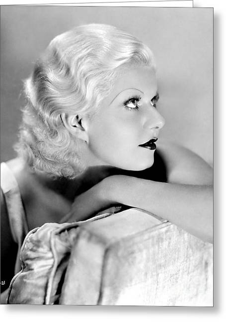Choreographer Greeting Cards - Jean Harlow Greeting Card by Movie Star News