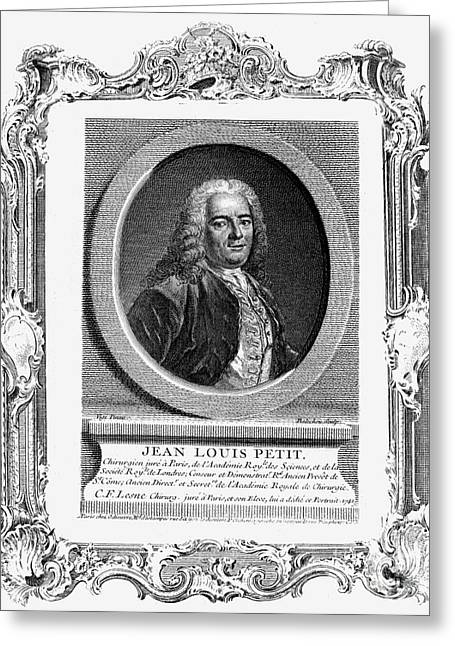 18th Century Greeting Cards - Jean Louis Petit (1674-1750) Greeting Card by Granger