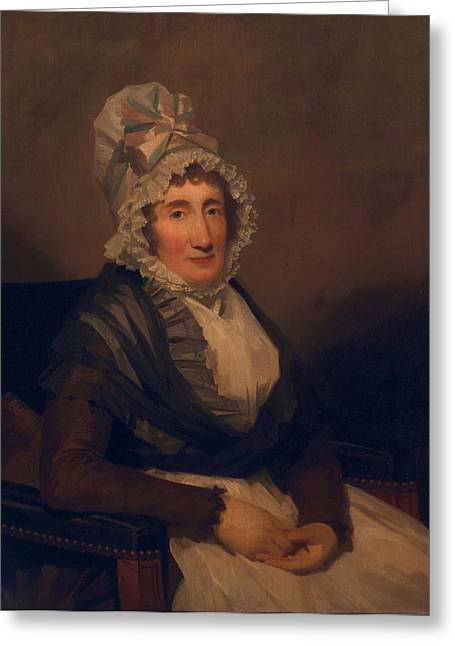 Elderly Female Greeting Cards - Jean Pitcairn, C.1790s Greeting Card by Sir Henry Raeburn