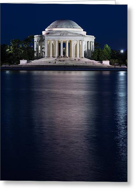 Jefferson Memorial Washington D C Greeting Card by Steve Gadomski