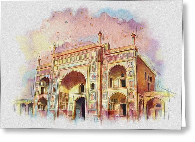 Jehangir Form Greeting Card by Catf