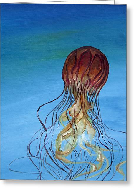 Anthony Cavins Greeting Cards - Jelly Greeting Card by Anthony Cavins