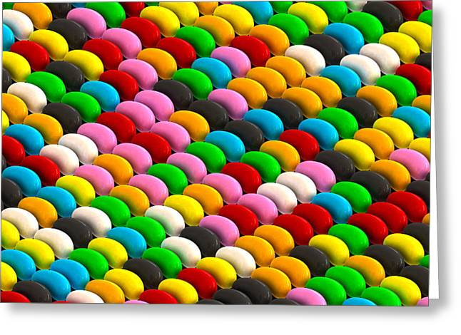 Jelly Greeting Cards - Jelly Bean Joy Greeting Card by Allan Swart