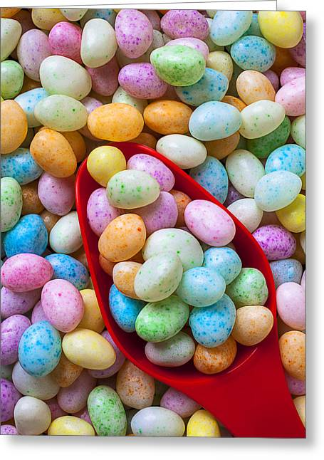 Jelly Greeting Cards - Jelly Beans Greeting Card by Garry Gay