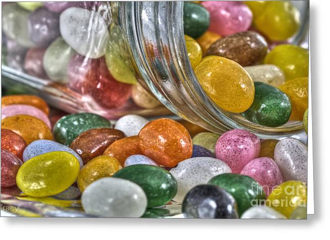 Tracy Hall Greeting Cards - Jelly Beans Greeting Card by Tracy  Hall