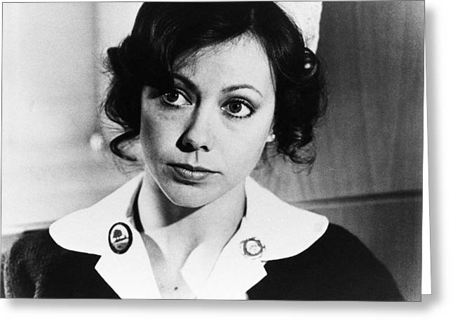 Jenny Agutter in An American Werewolf in London  Greeting Card by Silver Screen