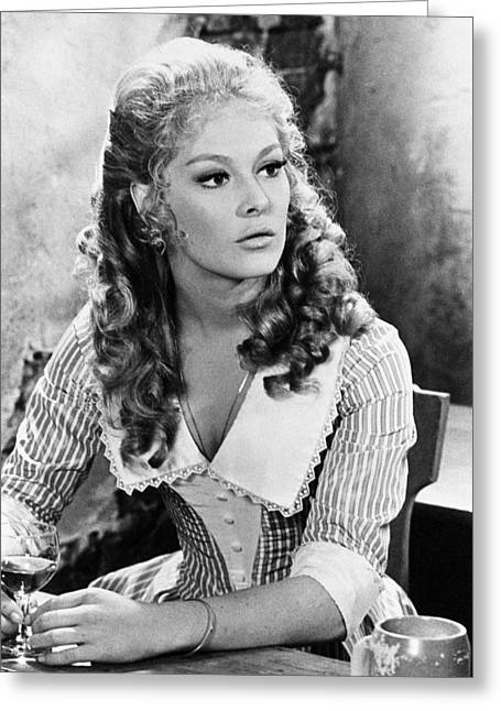 Scar Greeting Cards - Jenny Hanley in Scars of Dracula  Greeting Card by Silver Screen