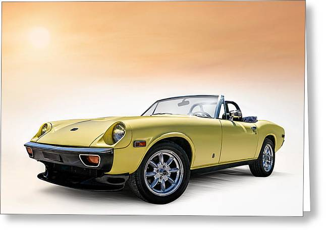 Jensen Greeting Cards - Jensen Healey Greeting Card by Douglas Pittman