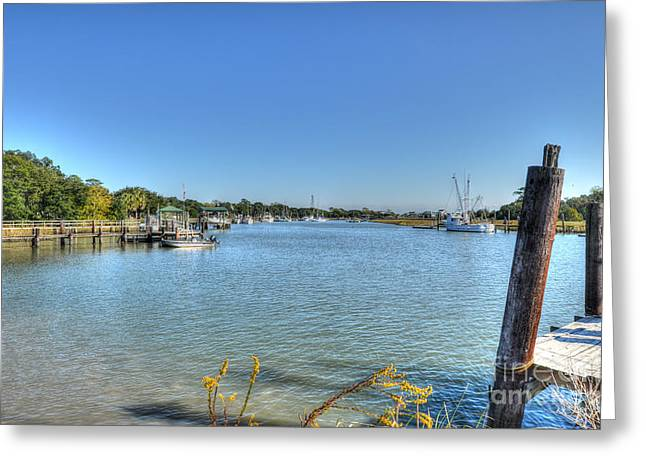 Recently Sold -  - Jeremy Greeting Cards - Jeremy Creek Greeting Card by Dale Powell