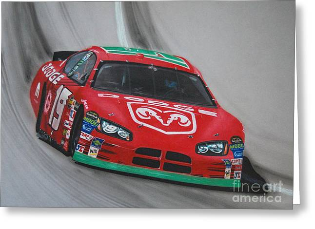 Mayfield Greeting Cards - Jeremy Mayfield Dodge Greeting Card by Paul Kuras