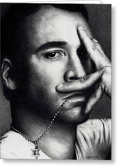 Jeremy Greeting Cards - Jeremy Piven Greeting Card by Rick Fortson