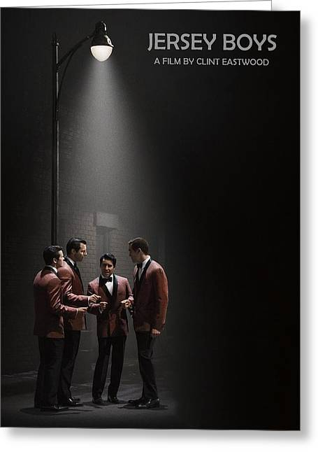Movie Poster Prints Greeting Cards - Jersey Boys by Clint Eastwood Greeting Card by Movie Poster Prints