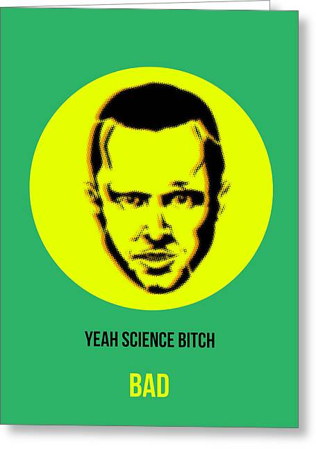 Shows Greeting Cards - Jesse Breaking Bad Poster 2 Greeting Card by Naxart Studio