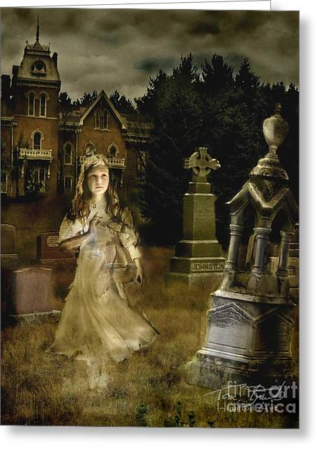 Grave Markers Greeting Cards - Jessica Greeting Card by Tom Straub