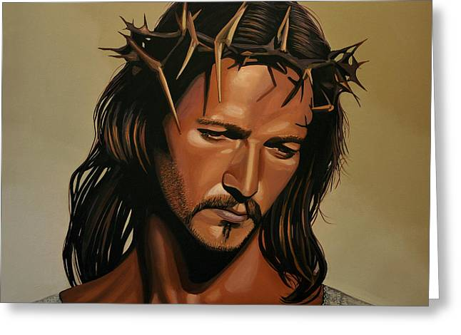 Him Greeting Cards - Jesus Christ Superstar Greeting Card by Paul  Meijering