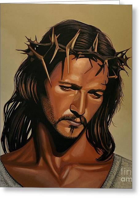 Jesus Christ Superstar Greeting Card by Paul Meijering