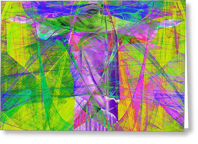 Bible Digital Art Greeting Cards - Jesus Christ Superstar 20130617p32 square Greeting Card by Wingsdomain Art and Photography