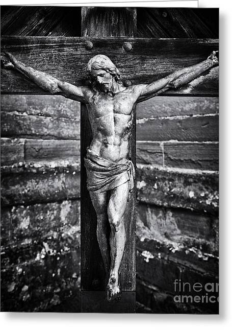 Afterlife Greeting Cards - Jesus Christ  Greeting Card by Tim Gainey