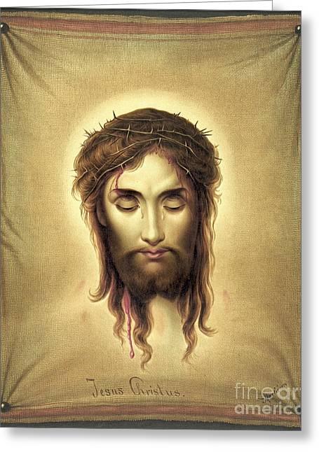 Jesus Christus 1876 Greeting Card by Padre Art