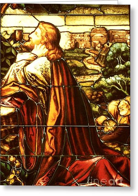 Incarnation Greeting Cards - Jesus Greeting Card by Janice DeLawter