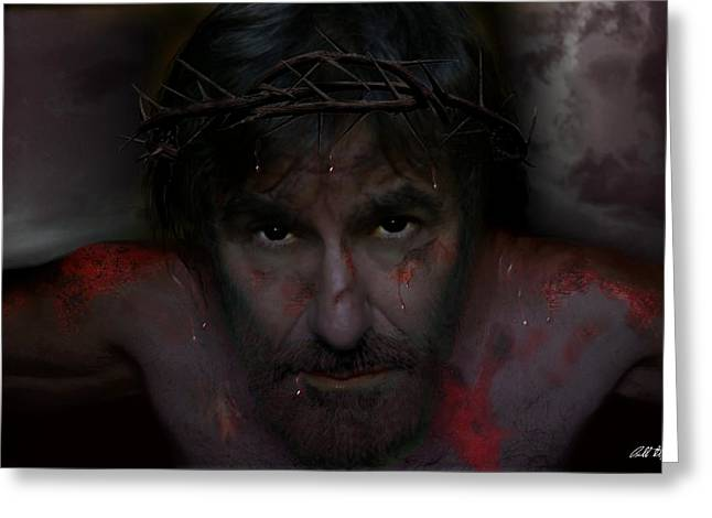 Jesus Never Loved You Greeting Card by Bill Stephens