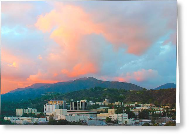 Jet Propulsion Laboratory Nasa - Pasadena California Greeting Card by Ram Vasudev