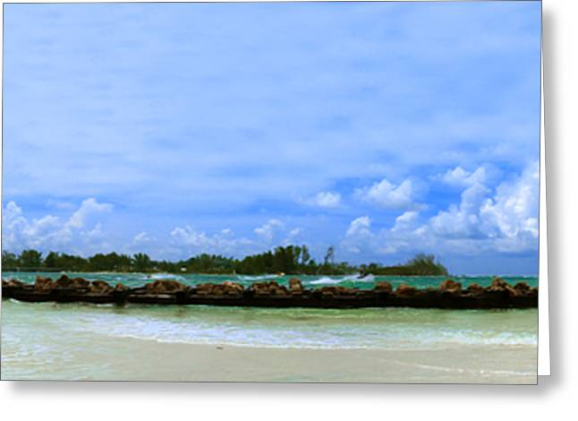 Jet Skis In Longboat Pass Greeting Card by Rolf Bertram