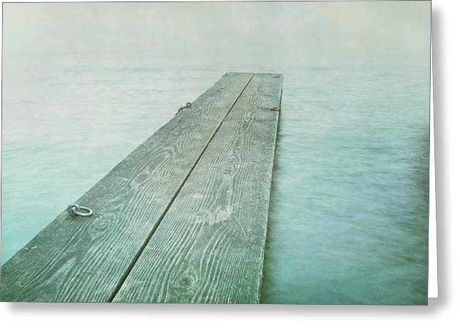 jetty Greeting Card by Priska Wettstein