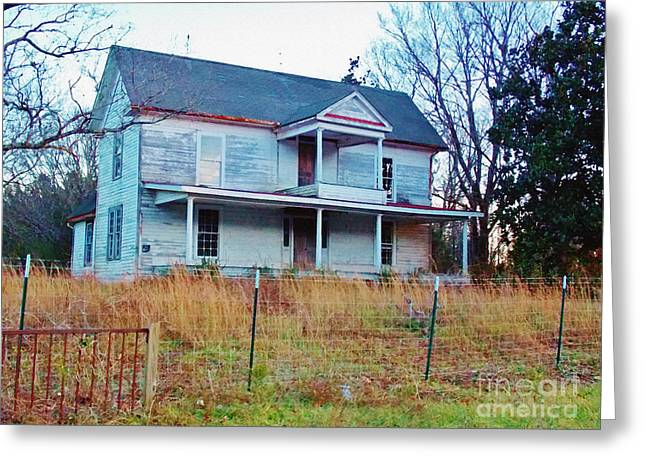 Old Home Place Digital Greeting Cards - Jewel in the Rough Greeting Card by Anita Faye
