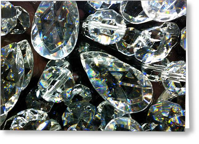 Bling Greeting Cards - Jeweled Greeting Card by Jon Berry