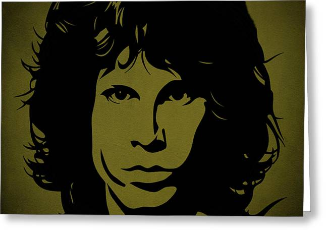 The Doors Poster Greeting Cards - Jim Morrison  Greeting Card by Movie Poster Prints