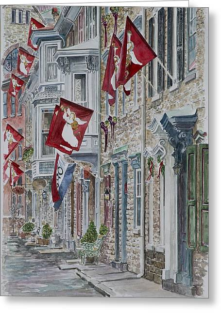 Angel work Paintings Greeting Cards - Jim Thorpe Greeting Card by Anthony Butera